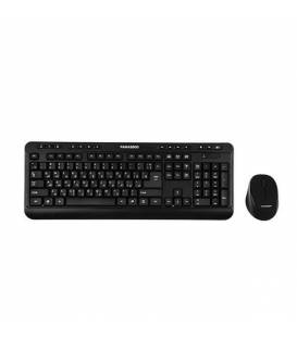 KEYBOARD & MOUSE FARASSOO WIRELESS FCM-6868RF کیبورد و موس فراسو