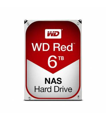 HARD DISK 6TB WESTERN DIGITAL Red