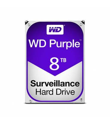 HARD DISK WESTERN DIGITAL 8TB purple