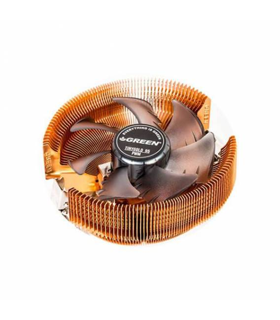 Green Tiny Gold 95-PWM CPU Cooler فن سی پی یو گرین