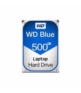 Hard Disk Notebook 500GB WESTERN DIGITAL BLUE هارد لپ تاپ وسترن