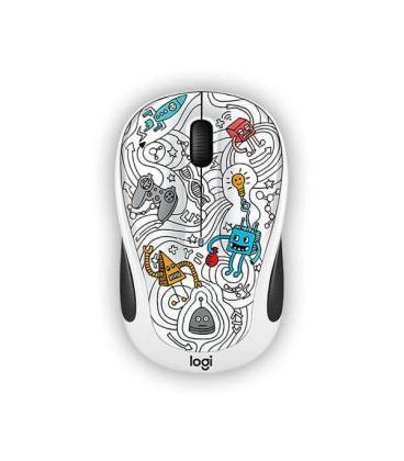 Mouse Logitech Wireless M238 DOODLE COLLECTION
