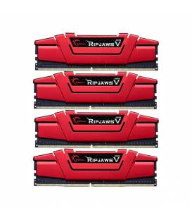 RAM 64G(16GB×4) G.SKILL Ripjaws V DDR4 3200MHz CL15 رم جی اسکیل