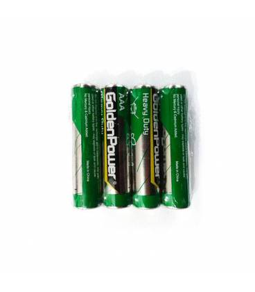 GoldenPower Battery R6P AAA Pack Of 4