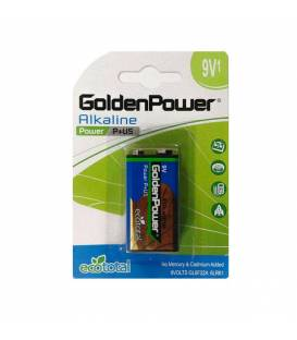 GoldenPower Battery LR61 9V Alkaline Pack Of 1