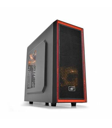 DeepCool TESSERACT SW_RD Mid Tower Computer Case کیس دیپ کول