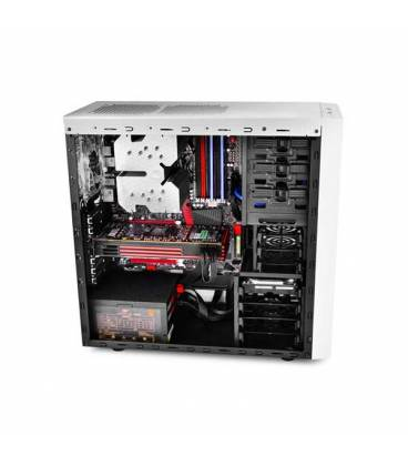 DeepCool TESSERACT SW_WH Mid Tower Computer Case کیس دیپ کول