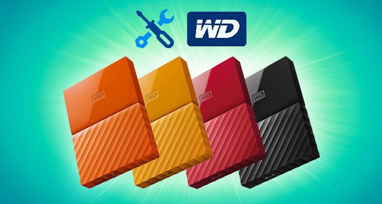 آموزش کار با نرم افزار WD Drive Utilities