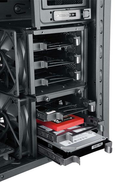 فضای نصب هارد دیسک در کیس کامپیوتر
