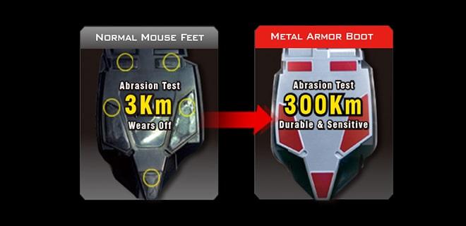 کفی Metal X Glide با طول عمر حرکتی 300 کیلومتر